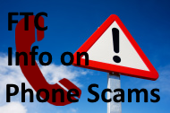 FTC Phone Scam Information